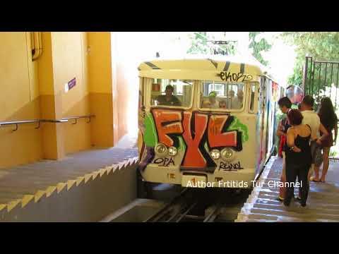 Tibidabo Funicular Barcelona Catalonia Spain