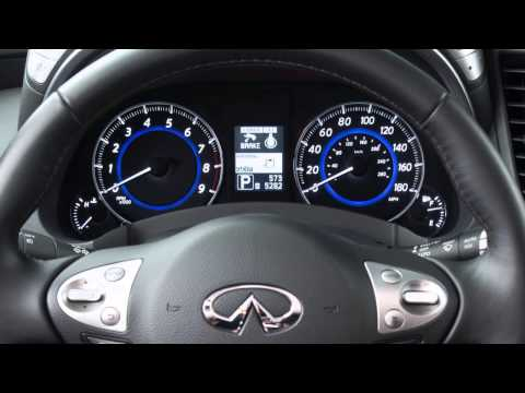 2015 Infiniti QX70 - Lane Departure Warning (LDW) and Lane Departure Prevention (LDP) Systems