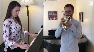 Steven Woomert, TSO Associate Principal Trumpet and wife Rachael Kerr, COC pianist perform together