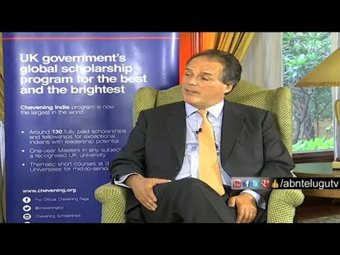 Exclusive  with Britain's Foreign Office Minister Mark Field