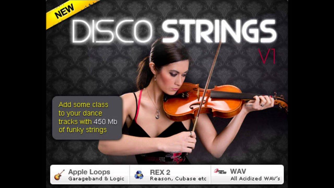 Violin Samples-Disco Strings V1