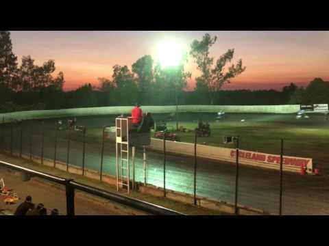 250 Pts Race 13 Cycleland Speedway 7/22/17