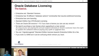 Introduction to Oracle Database Licensing