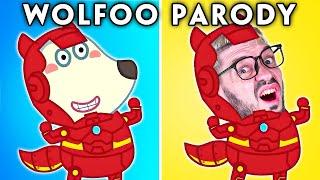WOLFOO 2 WITH ZERO BUDGET! (WOLFOO FUNNY ANIMATED PARODY) | Hilarious Cartoon