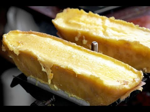 SWISS RACLETTE, SOFT MELTED CHEESE, THE BEST SWISS RACLETTE IN LONDON, LONDON STREET FOOD