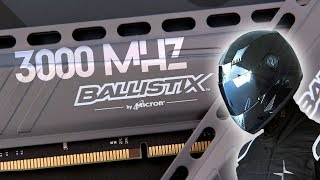 ballistix Tactical 16GB DDR4 2666MHz Review and Overclocking