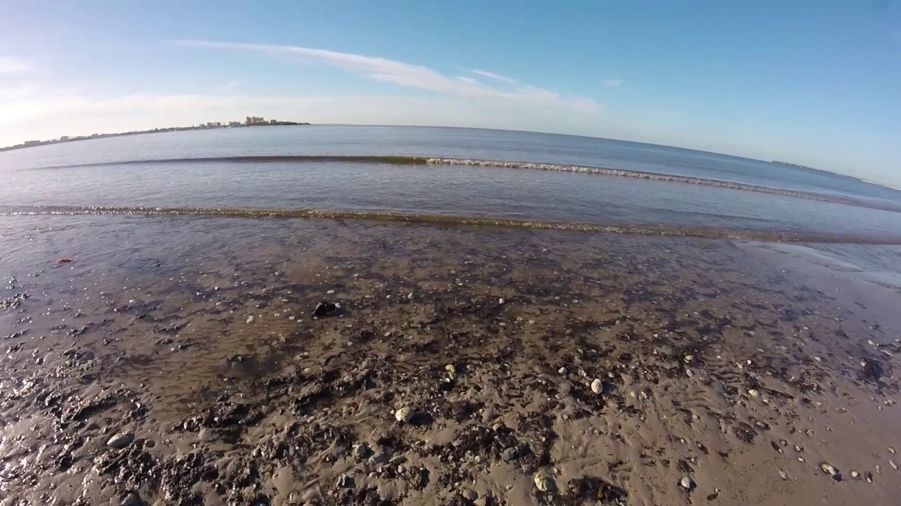 Gopro Bunche Beach Extreme Low Tide Ft Myers Sanibel