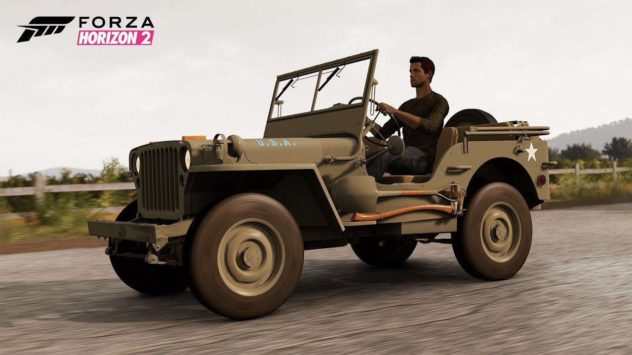 Forza horizon 2 jeep willys mb 1945 sisteron perimeter sprint