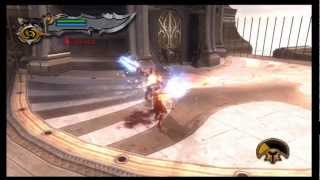 God of War 2 - Third Boss Battle - Theseus