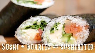 Sushi + burrito = sushiritto [BA Recipes]