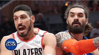 Paul Pierce has a really hot take about Enes Kanter and Steven Adams | Off the Clock