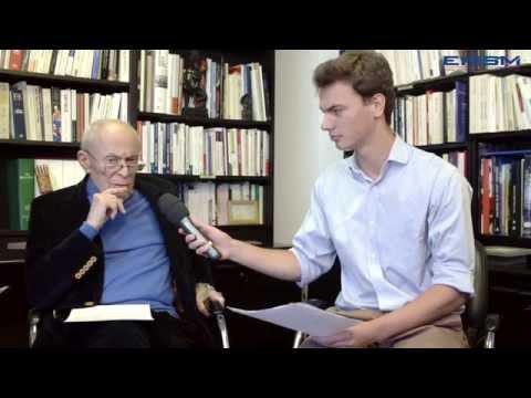 Interview de Michel Rocard, Ambassadeur des Pôles - Novembre 2015 (Intégrale)