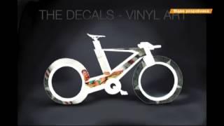 Коробка передач и багажник вместо спиц   революционный велосипед Циклотрон