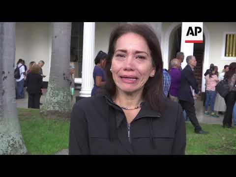 Lloran colegas muerte de concejal en Venezuela