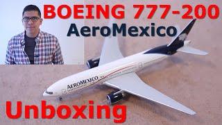 Video Boeing 777-200 de AeroMexico, Unboxing. (#12) download MP3, 3GP, MP4, WEBM, AVI, FLV Juni 2018