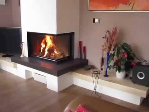 brunner eck kamin na e realizace youtube. Black Bedroom Furniture Sets. Home Design Ideas
