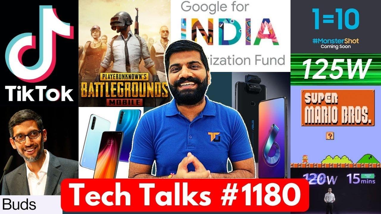 Tech Talks #1180 - TikTok Unban?, PUBG Cheating, GoogleIndia 75,000Cr, OnePlus Buds, Oppo 125W, M31s