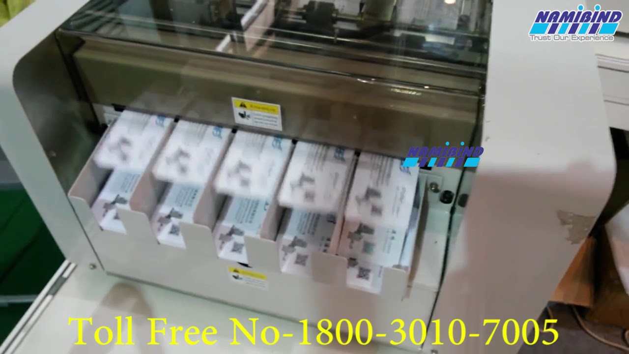 Business Card Cutter A3-Size - YouTube