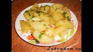 Что приготовить на ужин быстро, вкусно, недорого? Картофель в чесночном соусе в рукаве. Мега рецепт!