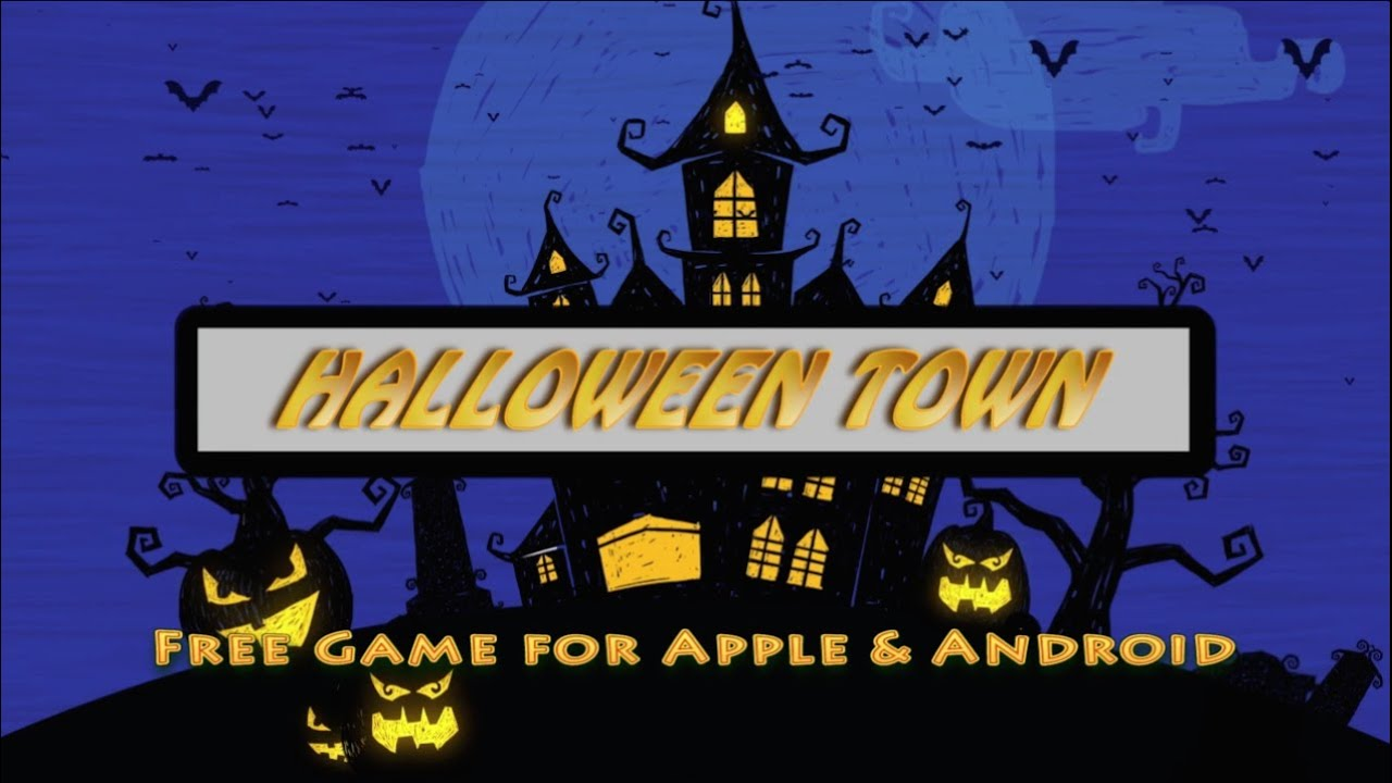 halloween town mobile game - youtube