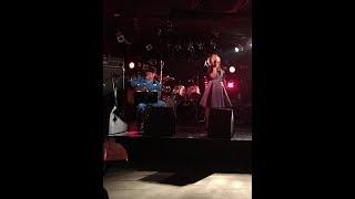 2017・9・9 @心斎橋FANJ 緊張の一曲目でしたが、いいライブホールでの実...