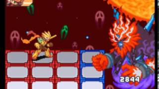 Megaman Battle Network 5 Me(Sol Cross Megaman) vs Nebula Gray Omega