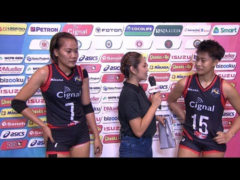 Match MVPs: Mylene Paat and Rapril Aguilar | PSL All-Filipino Conference 2018