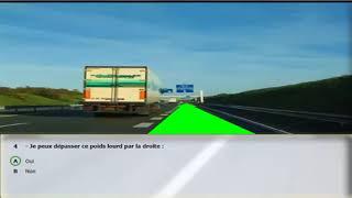 Test type examen Code Rousseau 2018 - Code de la route France 2018