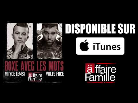 Youtube: Hayce Lemsi feat. Volts Face – Boxe avec les mots (Clip Officiel)