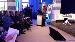 Intervention de M  Benamour au Symposium International du Tourisme
