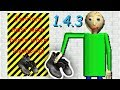 BIG OL' BOOTS ARE NOW ADDED IN BALDI'S BASICS!! Official Update!! | Baldi's Basics 1.4.3