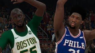 NBA 2K19 Tacko Fall My Career Ep. 12 - First Game as a Starter!