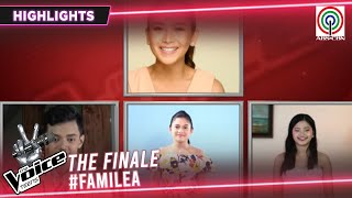 The Voice Coaches, bumilib sa performance ng FamiLea | The Voice Teens Philippines 2020
