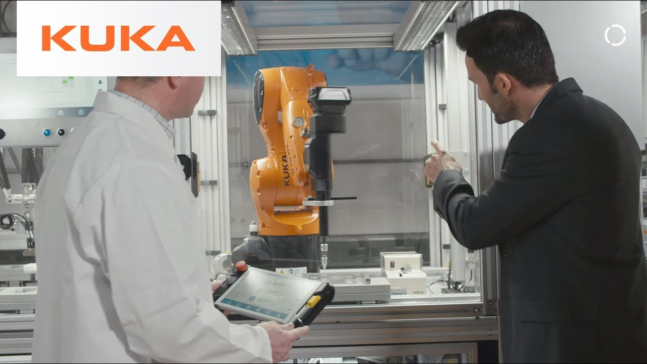 Kuka robot group gear tube for Vision industries group