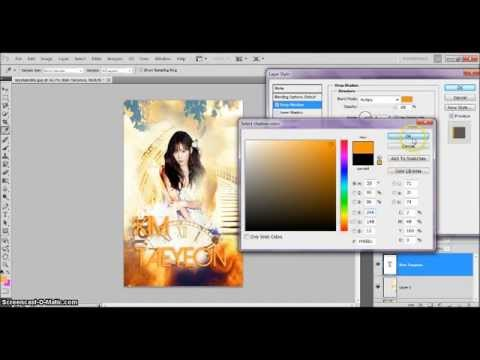 how to make a simple wattpad book cover on photoshop cs5