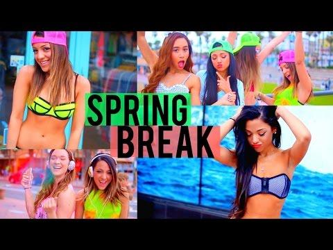 Spring Break 2015! DIY Cover-Ups, 4 Bikini ideas, + What to Bring!