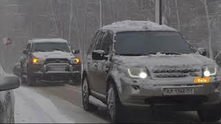 Снегопад в Киеве сегодня: какая ситуация на дорогах