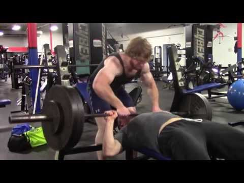 KID ALMOST DIES ON THE BENCH PRESS !!!
