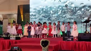 തെന്നി തെന്നി... Thenni Thenni... (Action Song By Sunday School Nursery)