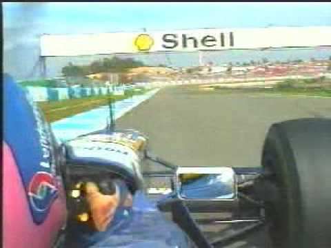 Jacques Villeneuve in-car jerez GP 1997