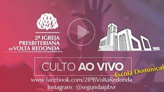 Live da Escola Bíblica Dominical dia 10/05/2020