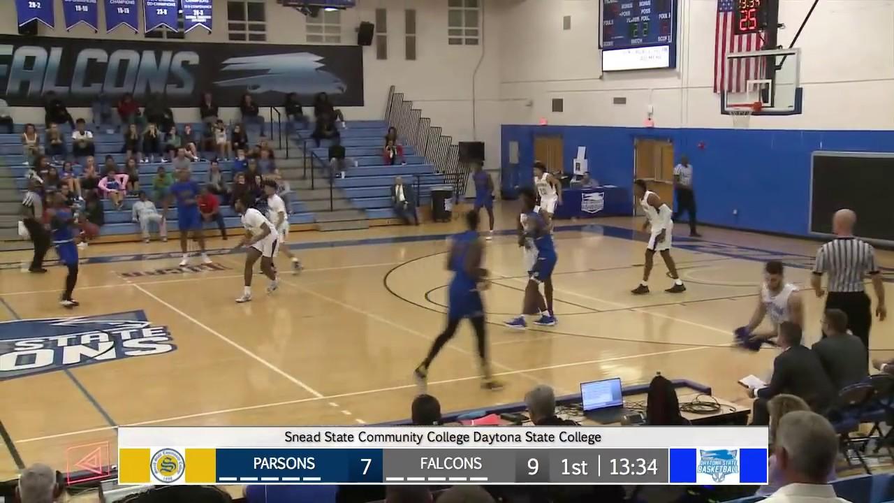Dsc Mens Basketball Vs Snead State Community College - Youtube