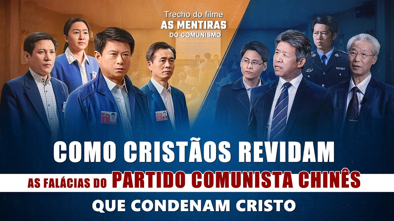 "Filme evangélico ""As mentiras do comunismo"" Clipe 4"