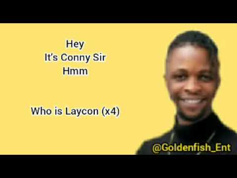 Laycon Who Is Laycon Official Lyrics Video Youtube