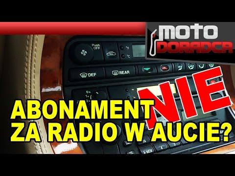 Abonament RTV za radio w aucie - powiedzmy stop! #MOTODORADCA