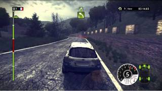 WRC 2 2011 PC Gameplay Part 2/2 (HD) (WRC FIA World Rally Championship 2011)