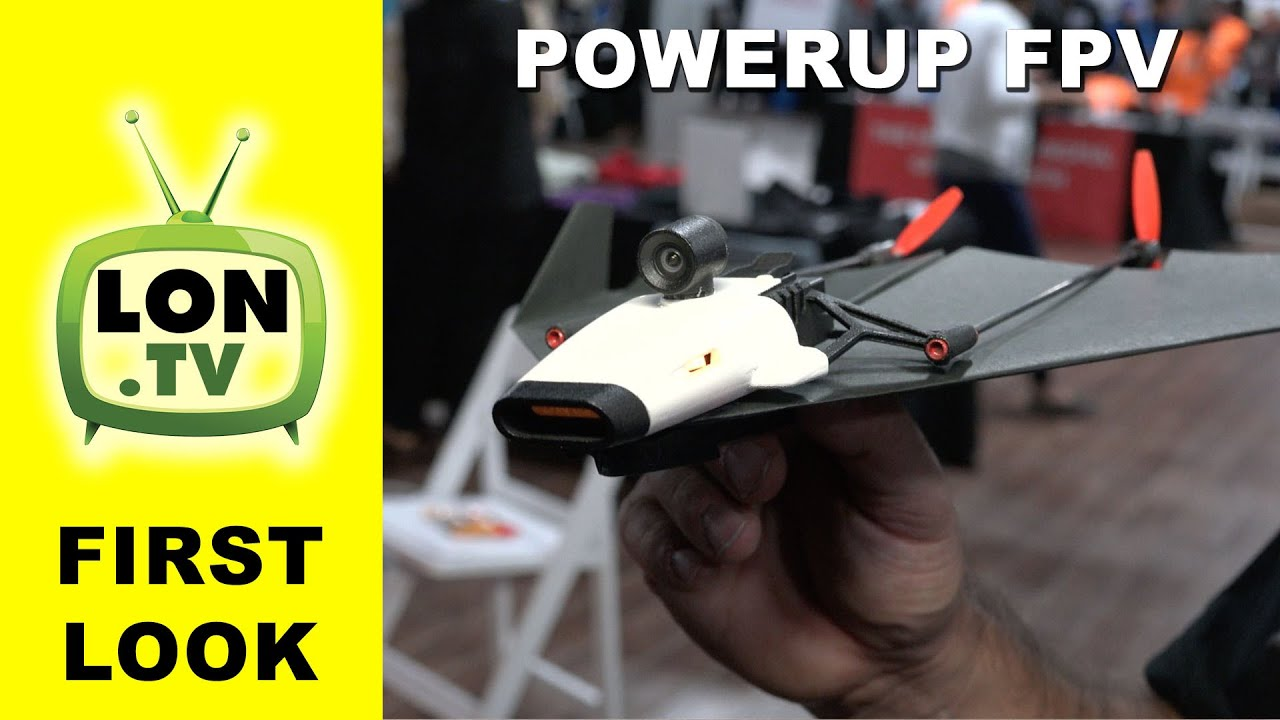 First Look: Powerup FPV - Paper Airplane with Camera and Smartphone Virtual Reality Control!