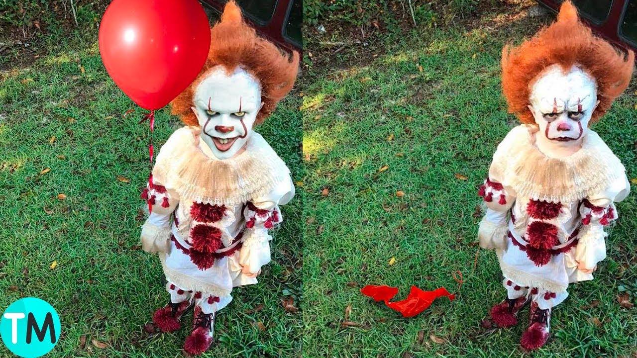 10 Disfraces De Halloween Más Crueles En Niños Youtube