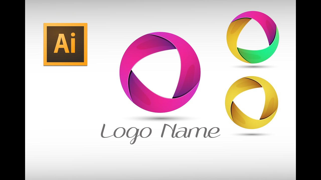Adobe Illustrator cc Tutorial (logo Design) - YouTube