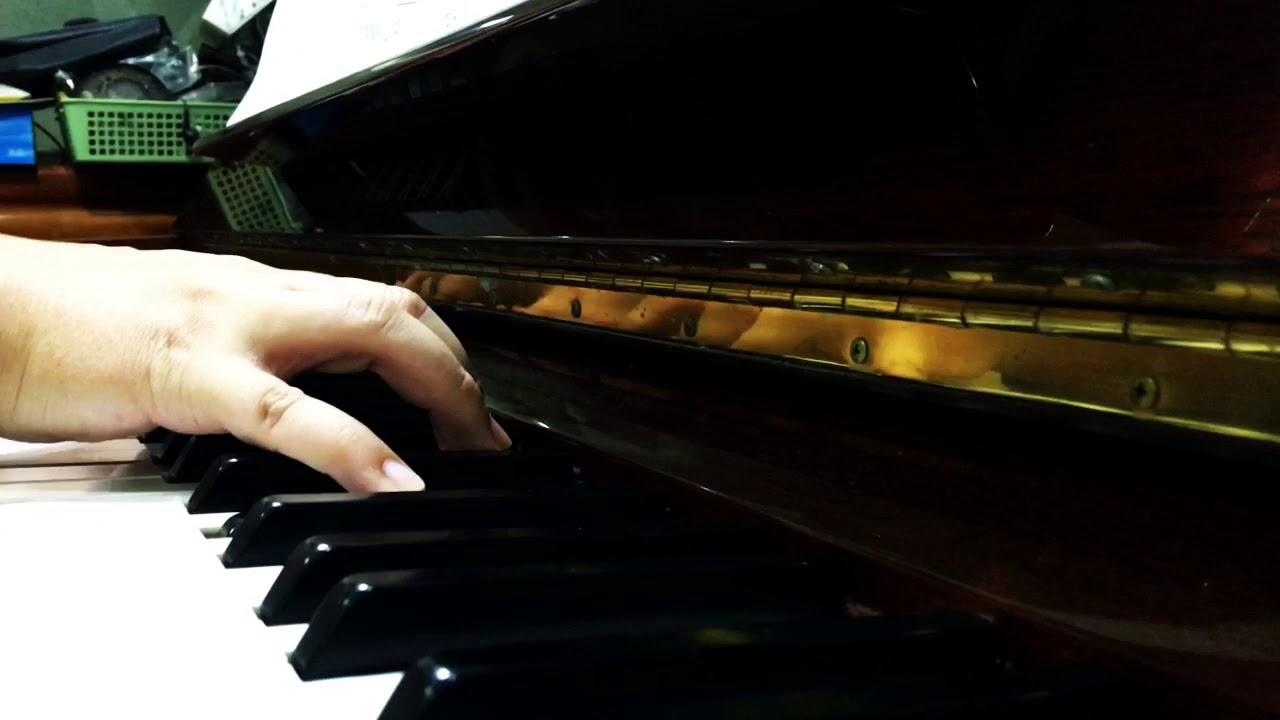 [鋼琴] 擺渡人主題曲-讓我留在你身邊
